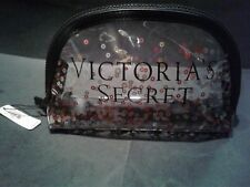 VICTORIAS'S SECRET CLEAR COSMETIC MAKE UP BAG -NEW WITH TAGS