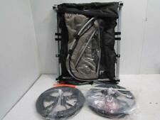 Rover Two Passenger Children's Foldable Bike Trailer - Slate Gray