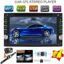 """6.2"""" Double 2Din Car DVD Stereo Radio Player Bluetooth HD Touch Screen Map Card"""