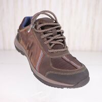 Rockport XCS Leather Brown Hiking Shoes Womens Size 6 M Adiprene byAdidas