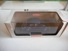 Wiking VW Volkswagen Beetle Limousine in blue on 1:40 in Box