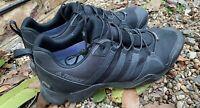 ADIDAS TERREX GORETEX TRIPLE BLACK WALKING SHOES TRAINERS UK 12.5