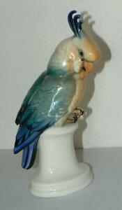 Porzellan - Kakadu  ENS - ca 24 cm hoch
