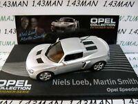 OPE131R 1/43 IXO designer serie OPEL collection : SPEEDSTER N.Loeb M.Smith