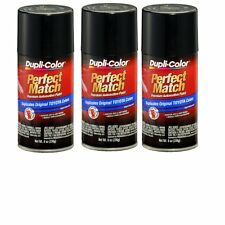 3 Cans-Duplicolor BTY1622 For Toyota Code 209 Black Sand Pearl Spray Paint