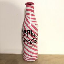 RARE - Bouteille Coca Cola KARL LAGARFIELD Pleine Full Bottle Botella Bottiglia