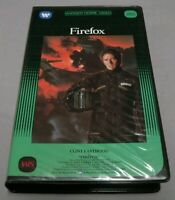 FIREFOX VHS RELEASE 1982 WARNER HOME VIDEO CLAMSHELL BIG BOX CLINT EASTWOOD RARE