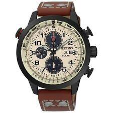 Seiko Watch Prospex Solar Chronograph Brown Mens SSC425P1