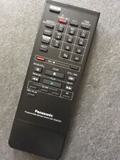 Panasonic VEQ0720 programable control remoto original de video VCR VTR totalmente reformado