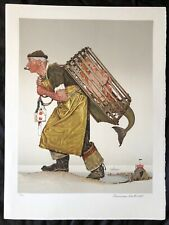 Norman Rockwell, Lobsterman, Signed Limited Edition