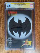Batman: Dark Knight Returns #3 CGC 9.6 WHITE PAGES - Miller Signature