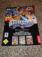 Roller Coaster Tycoon 3 Deluxe Edition: 3,(PC CD-ROM)