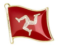 Isle of Man (Triskelion)  - Lapel Enamel Pin / Badge - UK SELLER , FREE POST