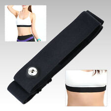 Adjustable Chest Belt Strap Band For Sport All Heart Rate Monitor Garmin Wahoo