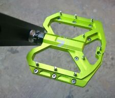 Road MTB Mountain Bike XC Pedal 3 Bearings Flat Cycling Pedals ENZO Green