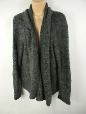 WOMENS SUZANNEGRAE GREY KNITTED CARDIGAN JUMPER SIZE LARGE