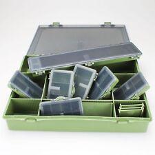 I-System Tackle Box Set M 6+1 Carp Kleinteile Karpfen Sortiment Bag Angelkoffer