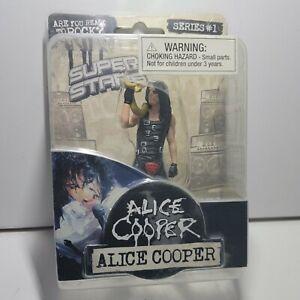 Alice Cooper 2009 Super Stars Series 1 Action Figure
