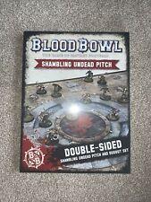 Warhammer Blood bowl no muertos Pitch y piragua doble cara
