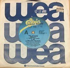THE JACKSONS Jackson's Medley RARE OZ Sample Promo