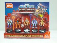 Masters of the Universe Mega Construx Battle for Eternia Set Lot He man MOTU New