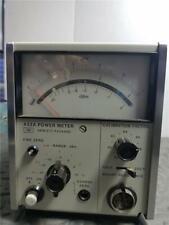 HEWLETT PACKARD 432A analog POWER METER- hp / keysight