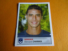 N°67 CHAMAKH  GIRONDINS BORDEAUX LESCURE PANINI FOOTBALL FOOT 2007 2006-2007