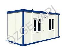Container Schlüsselfertig Bürocontainer Baucontainer Wohncontainer 5,00m x 2,40m