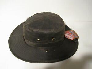 Dorfman Pacific Weathered cotton GAMBLER BOONIE Hat Size LARGE