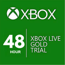 XBOX LIVE 48HR 2 DAY GOLD TRIAL CODE INSTANT DISPATCH - READ ITEM DESCRIPTION