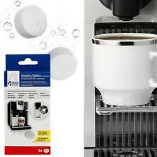 6 X Latte Sistema Pulizia Compresse Anticalcare Per Bosch Siemens Caffè Macchina