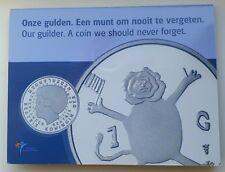 Nederland De Laatste Gulden 2001 Leeuw FDC in blister