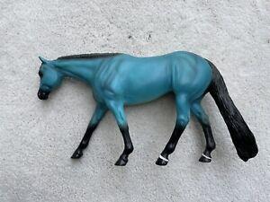 Breyer Peter Stone Western Pleasure Horse Precious Series Blue Turquoise Special