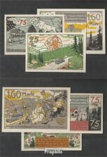 Deutsches Reich Notgeld: 156.1 Drei Notgeldscheine der KVG Braunschweig bankfris