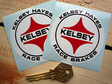 KELSEY HAYES BRAKES 3 inch classic car racing stickers