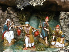 Landi Nativity Scene Figures Set/4 Presepio Pesebre Manger Scene Creche Figures