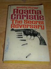THE SECRET ADVERARY BY AGATHA CHRISTIE (PAPERBACK 1975) BANTAM