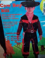 VESTITO CARNEVALE COW BOY BILL  4 - 5  ANNI  cod.7544