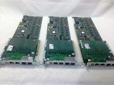 LOT OF 3 Natural MicroSystems NMS CG6000 50071 4T1 / 4E1 3200 MIPS 50014 Boards