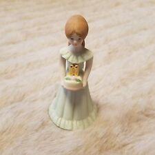 Growing Up Birthday Girls 11 Figurine Figure 1982 Enesco Cake
