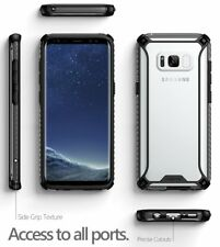 for Samsung Galaxy S8 Plus Poetic Affinity Shockproof Case Bumper Cover Black