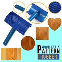 1PC Wood Pattern Brushing Roller Embossed Wall Art Paint Art Wallpaper Popular