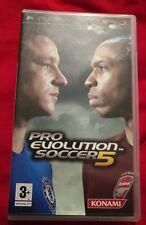 Pro Evolution Soccer 5 Sony Playstation Portable PSP Game Football