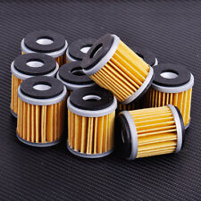 10x Engine Oil Filter Cleaner Fit For Yamaha YZ250 YZ250FYZ450F XT250 YFZ450 New
