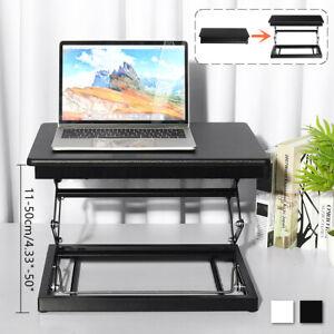 Ergonomic Height Adjustable Sit-Stand Desk Workspace Workstation Computer  D1
