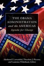 THE OBAMA ADMINISTRATION & THE AMERICAS - paperback book - Democrat US politics