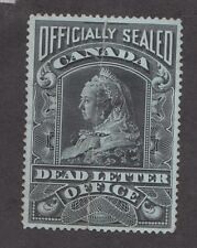 Canada 0X2 Offical seal. VF. Creased at DLO when resealing envelope.