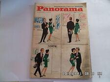 PANORAMA  N°17 24-30/04/1962 TV TELERAMA JEAN JOURDEN JACQUES CHAZOT JAPON    K1