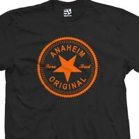 Anaheim Original Inverse T-Shirt - Born and Bred in Made Tee  All Sizes & Colors