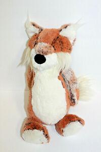 """Jellycat Woodland Babe Bashful Fox 12"""" Plush Stuffed Toy Orange White Soft Lovey"""